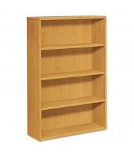 HON 105534CC 4-Shelf Laminate Bookcase in Harvest Finish