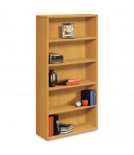 HON 105535CC 5-Shelf Laminate Bookcase in Harvest Finish