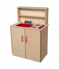 Wood Designs 3-N-1 Kitchen Center Dramatic Play Set