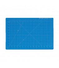 "Dahle Vantage 10690 9"" x 12"" PVC Self-Healing Cutting Mat, Blue"