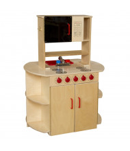 Wood Designs All-in-One Kitchen Center (Shown in Red)