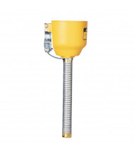Justrite 11089 Funnel with Galvanized Hose for Type I Steel Safety Cans