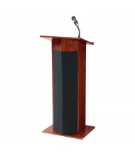 Oklahoma Sound Power Plus Wireless Sound System Lectern (Shown in Mahogany)