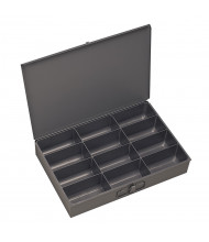 Durham Steel Large Compartment Boxes (12 compartment model shown)