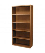 HON Valido 11555AX 5-Shelf Laminate Bookcase (Shown in Bourbon Cherry)