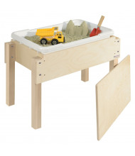 "Wood Designs 18"" H Petite Sand and Water Table with Lid"