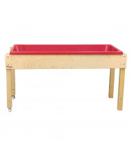 "Wood Designs 24"" H Sand and Water Table"