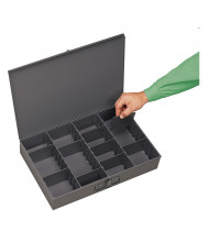 Durham Steel Large Adjustable Compartment Parts Box Drawer