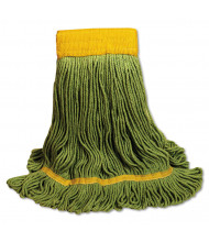 Boardwalk EcoMop Extra Large Mop Head, Green, Pack of 12