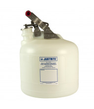 Justrite 12260 Polyethylene 2.5 Gallon Corrosive Safety Container