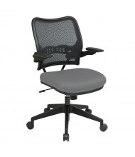 Office Star Space Seating Deluxe AirGrid Mesh Mid-Back Fabric Task Chair (Shown in Grey)