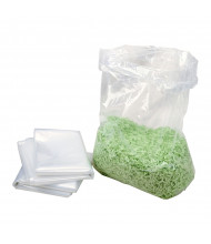 HSM Plastic Shredder Bags For FA500.3/KP100 Baler/1049SA Paper Shredders 50-Box 2728