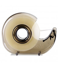 "Scotch H127 Refillable Hand Tape Dispenser, Smoke, 1"" Core"