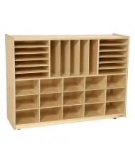 Wood Designs Childrens Classroom Multi-Storage Unit