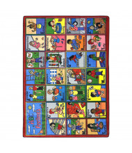 Joy Carpets ABC Feelings Rectangle Classroom Rug
