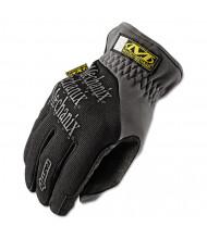 Mechanix Wear FastFit Large Work Gloves, Black/Gray