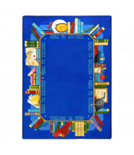Joy Carpets Read to Succeed Classroom Rug