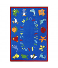 Joy Carpets ABC Animals Classroom Rug