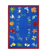 Joy Carpets ABC Animals Classroom Rug