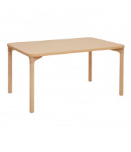 "ECR4Kids 48"" W x 30"" D All-Purpose Play & Work Activity Table, Maple"