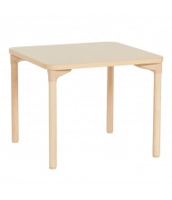 """ECR4Kids 30"""" D Square All-Purpose Play & Work Activity Table, Maple"""