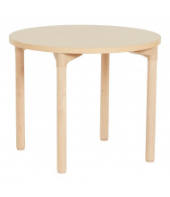 "ECR4Kids 30"" Dia. Round All-Purpose Play & Work Activity Table, Maple"
