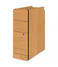 HON 3-Drawer Box/Box/File Narrow Pedestal, Harvest