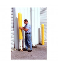"""Ultratech Standard Post Protector Plus 52"""" H, Yellow (example of application)"""