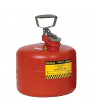 Eagle Type I 3 Gallon Polyethylene Safety Can (red)