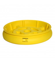 "Eagle 1614 31"" Dia x 6"" H Poly Spill Containment Drum Tray"