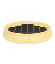 Eagle 1616 Grating for Spill Containment Drum Tray (shown in drum tray)