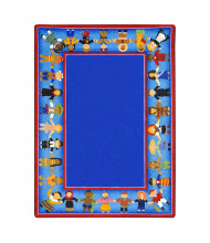 Joy Carpets Children of Many Cultures Classroom Rug