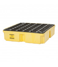 "Eagle 1-Drum 26.25"" W x 26"" L Modular Platform Unit, 15 Gallons (in yellow, no drain)"