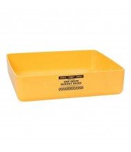 """Eagle 1636 1-Drum 26.25"""" W x 26.25"""" L Budget Basin, 17.5 Gallons, Yellow"""