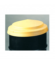 """Eagle 1666 23"""" Dia HDPE Closed Head Drum Cover (example of use)"""