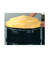 "Eagle 1667 24"" Dia HDPE Open Head Drum Cover (example of use)"