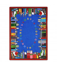 Joy Carpets Read & Learn Classroom Rug