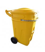 Eagle 1697Y E-Cart 95 Gallon Wheeled Spill Kit Cart