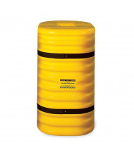 "Eagle 9"" Opening HDPE Column Protector 42"" H (in yellow)"