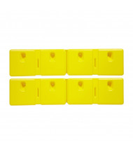 """Eagle 42"""" L x 10"""" W HDPE Wall Protector, Set of 2, 1728"""