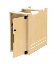 Jonti-Craft TrueModern Lockable Computer Bay, Right