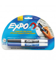 Expo Magnetic Clip Whiteboard Eraser with 2 Markers