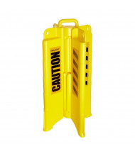 Eagle YellowJacket Collapsible Safety Barricade, with Caution 1820CAUTION