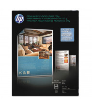 "HP 8-1/2"" X 11"", 120g, 100-Sheets, Matte Presentation Paper"