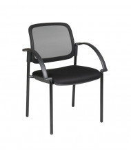 Office Star Thick Padded Mesh Mid-Back Guest Chair (Model 183305)