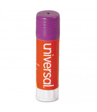 Universal .74 oz Permanent Glue Sticks, Purple, 12/Pack
