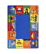 Joy Carpets Read Me A Story Rectangle Classroom Rug