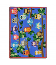 Joy Carpets Its A Hoot Rectangle Classroom Rug