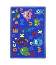 Joy Carpets Monster Mash Rectangle Classroom Rug