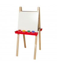 Wood Designs Double Sided Markerboard Easel (Shown in Red)